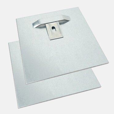 Ophangsysteem voor je foto op aluminium