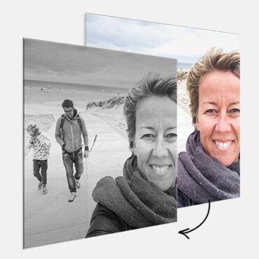 Fotobewerkingen van je foto op aluminium