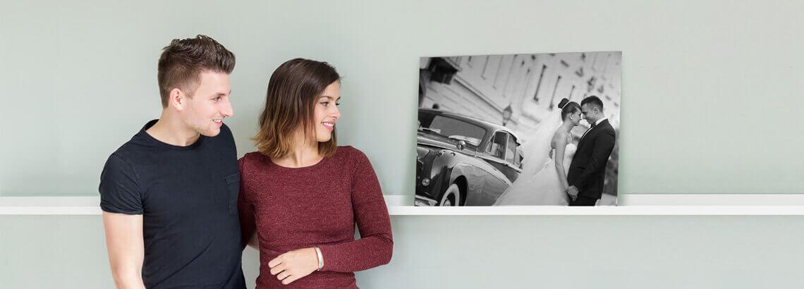 fotografen fotoshoot op aluminium