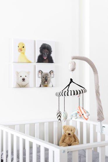 Muurdecoratie Hout Kinderkamer.Houten Wanddecoratie Babykamer Leuks Voor Aan De Kinderkamer Muur